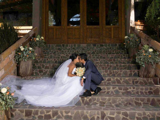 La boda de Marco y María  en Tepotzotlán, Estado México 38