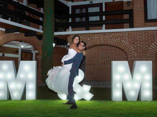 La boda de Marco y María  en Tepotzotlán, Estado México 42