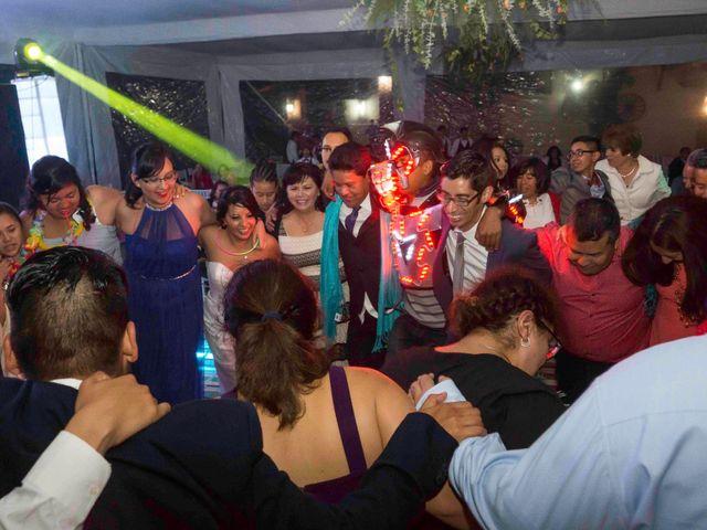La boda de Marco y María  en Tepotzotlán, Estado México 67