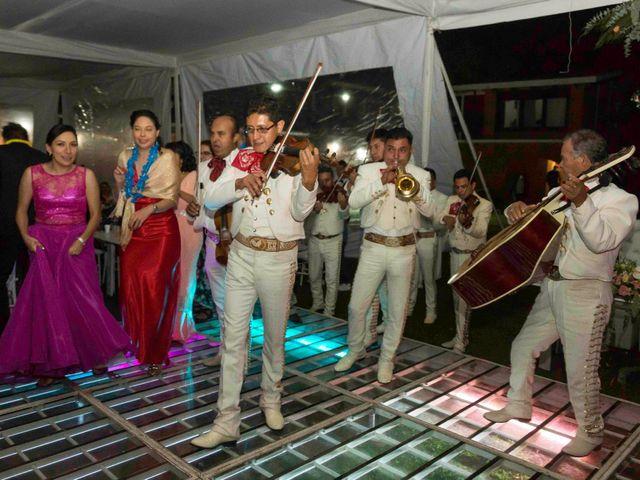 La boda de Marco y María  en Tepotzotlán, Estado México 74