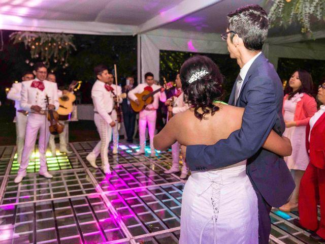 La boda de Marco y María  en Tepotzotlán, Estado México 76