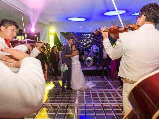 La boda de Marco y María  en Tepotzotlán, Estado México 77