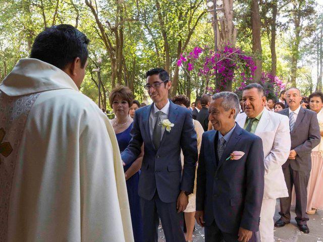 La boda de Marco y María  en Tepotzotlán, Estado México 24