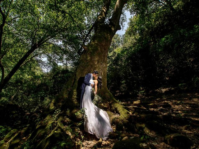 La boda de Marco y María  en Tepotzotlán, Estado México 84