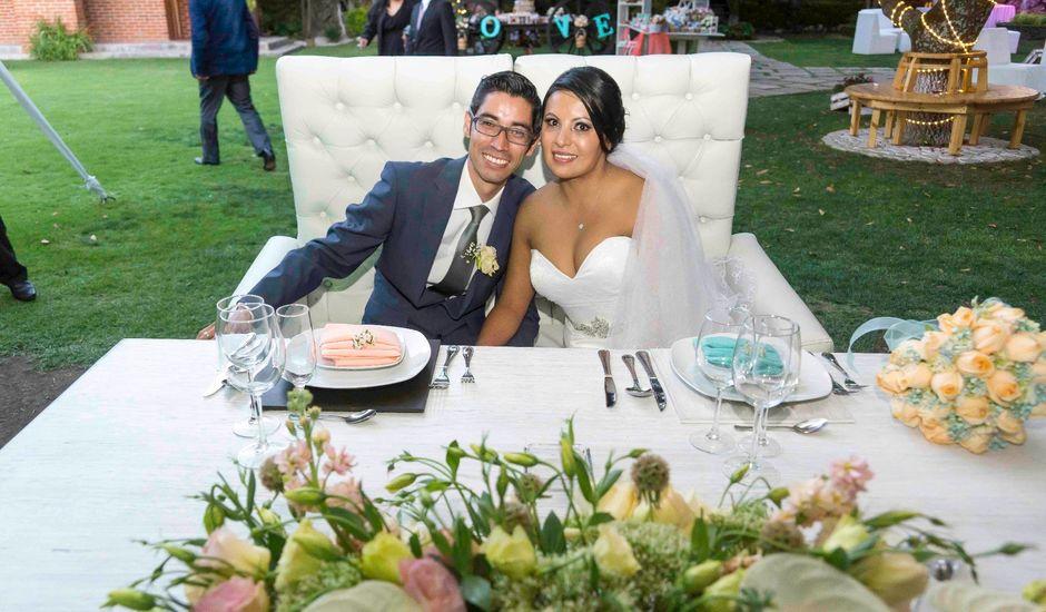 La boda de Marco y María  en Tepotzotlán, Estado México