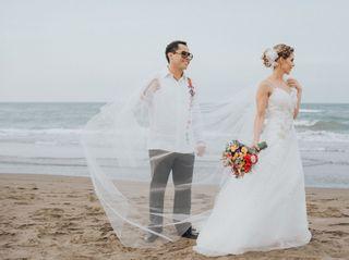 La boda de María Fernanda  y Carlos