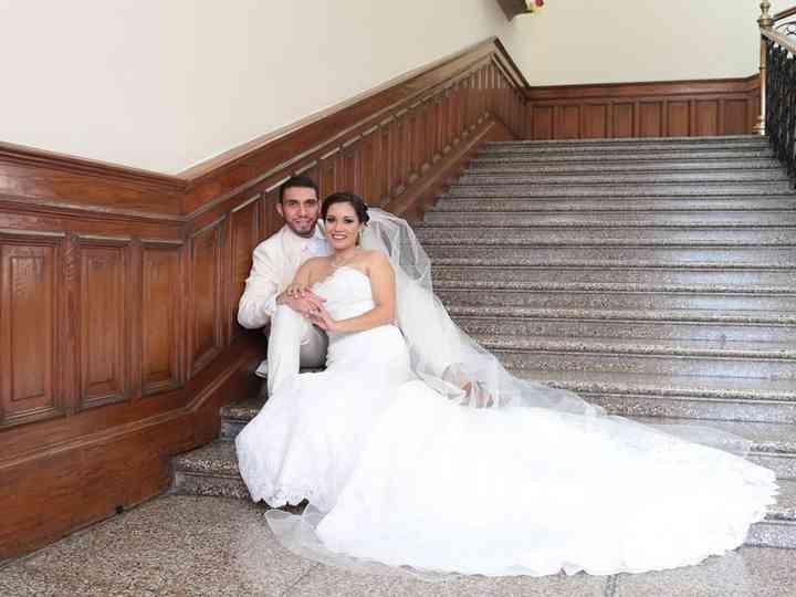 La boda de Joaquín y Sandra