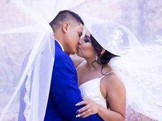 La boda de Valentín y Viridiana