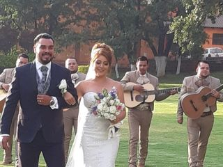 La boda de Mónica y Agustín