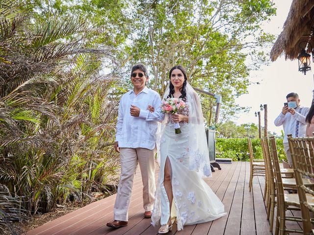 La boda de Marcos y Dayana en Cozumel, Quintana Roo 3
