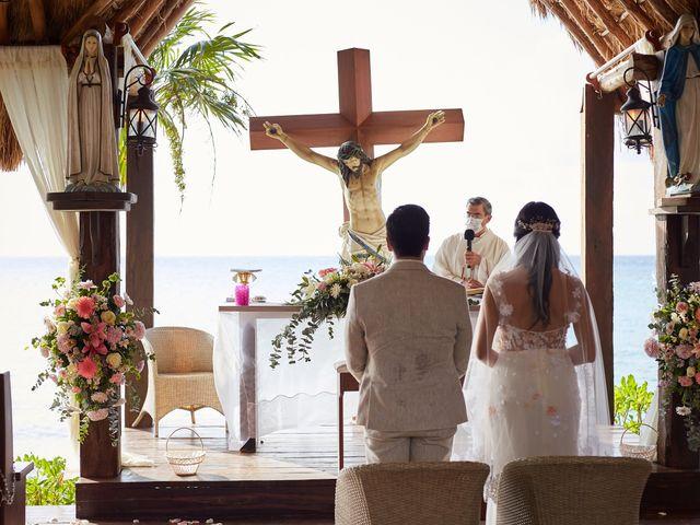 La boda de Marcos y Dayana en Cozumel, Quintana Roo 11