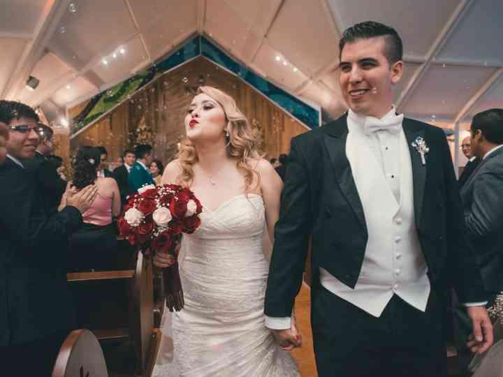 La boda de Cynthia y David