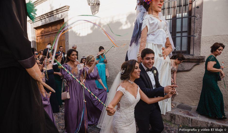 La boda de Carlos y Giovanna en San Miguel de Allende, Guanajuato