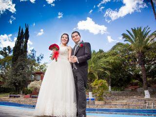 La boda de Roxana y Mercurio