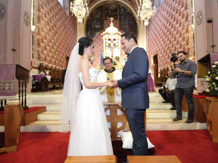 La boda de Elisa y Rogelio