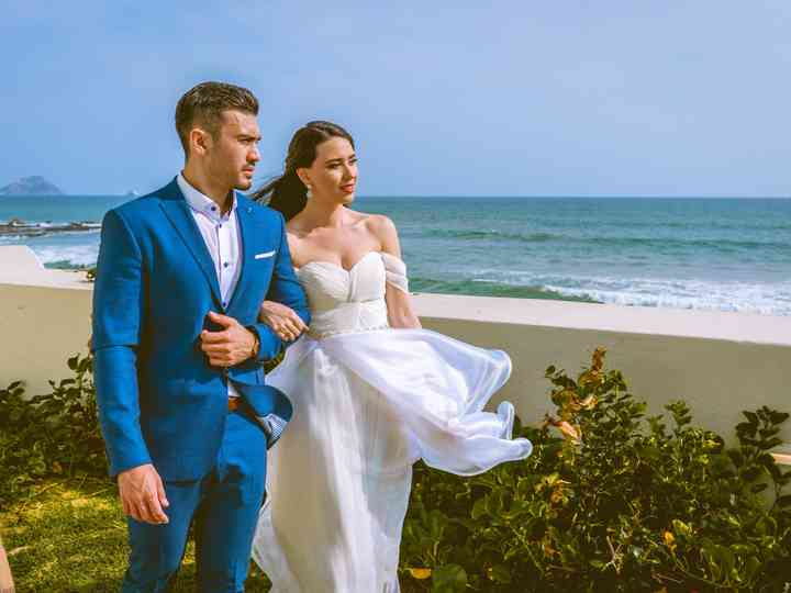 La boda de Lucía y Víctor