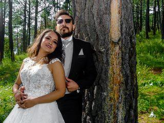 La boda de Gabriela y René