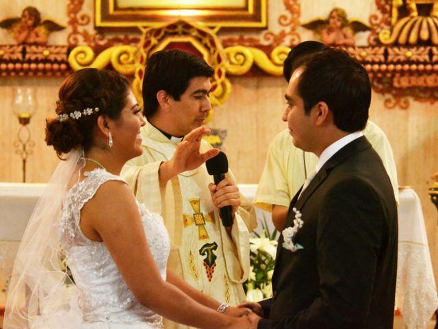 La boda de Luis y Sarahi en Coatzacoalcos, Veracruz 6