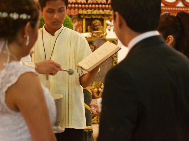 La boda de Luis y Sarahi en Coatzacoalcos, Veracruz 7