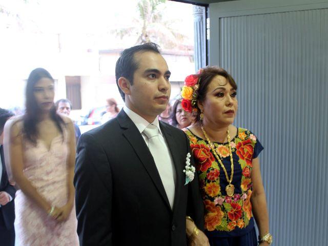 La boda de Luis y Sarahi en Coatzacoalcos, Veracruz 20