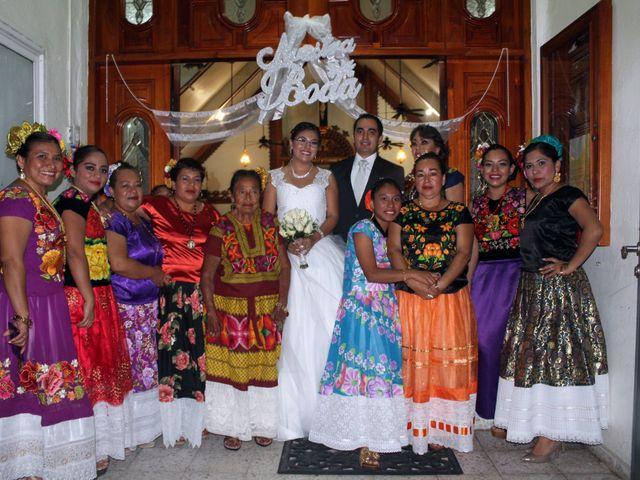 La boda de Luis y Sarahi en Coatzacoalcos, Veracruz 21