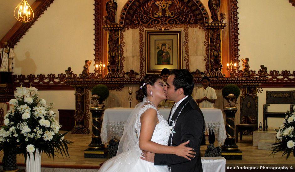La boda de Luis y Sarahi en Coatzacoalcos, Veracruz