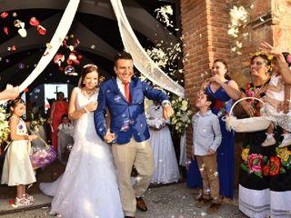 La boda de Abby y Raúl