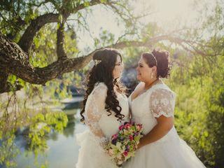 La boda de Erika y Anabell