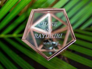 La boda de Raydhiri y Chase 1