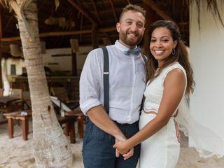 La boda de Raydhiri y Chase