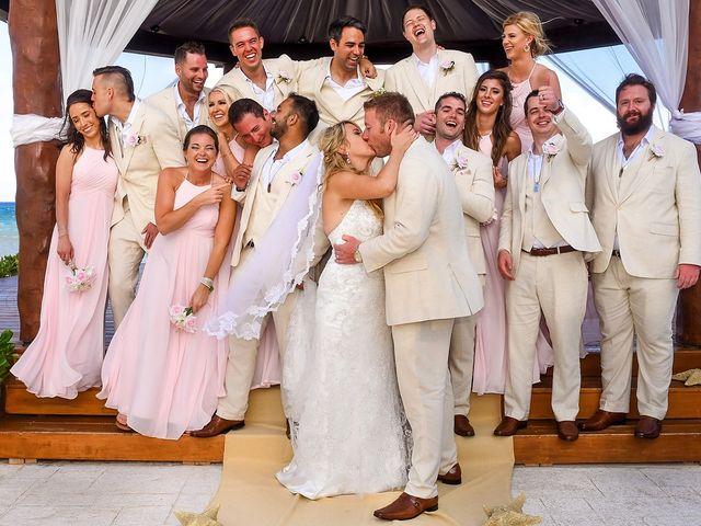 La boda de Brittany y Brad