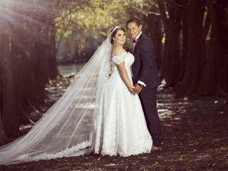 La boda de Anahí y Ober