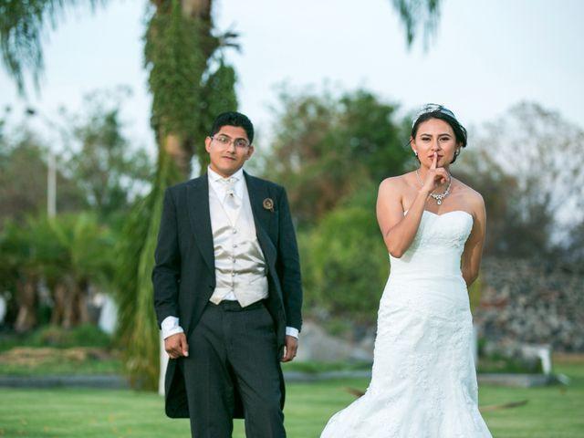 La boda de Bety y Memo