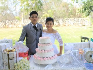 La boda de Iveth y Carlos