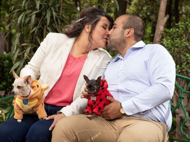La boda de Miguel y Leticia en Gustavo A. Madero, Ciudad de México 4