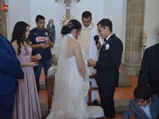 La boda de Flor Ángeles y Michel Rubén 1