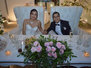 La boda de Flor Ángeles y Michel Rubén