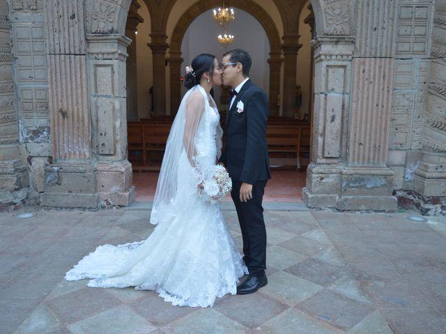 La boda de Michel Rubén y Flor Ángeles en Tlajomulco de Zúñiga, Jalisco 6