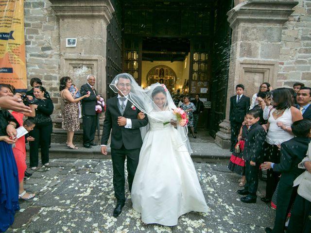 La boda de Adriana y Víctor