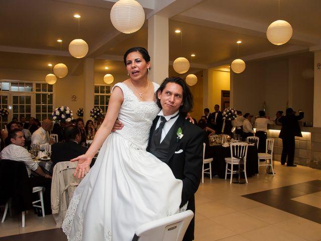 La boda de Fer y Wendy en Metepec, Estado México 32