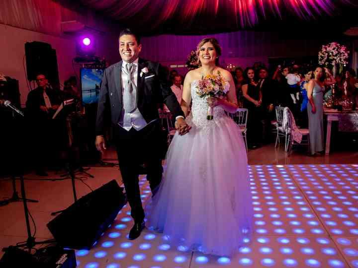 La boda de Esmeralda y Juan Manuel