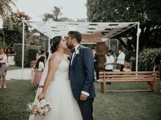 La boda de Flor y Óscar