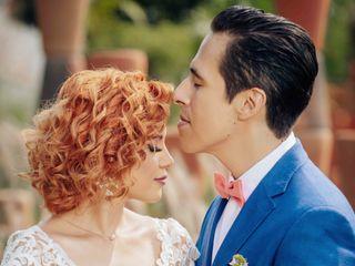 La boda de Kristel  y Diego 1