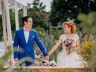 La boda de Kristel  y Diego