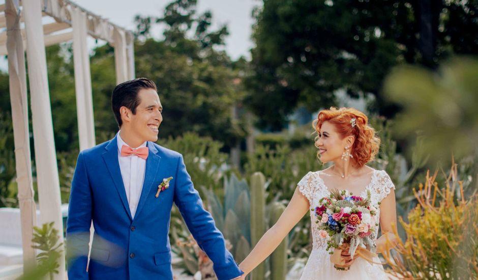 La boda de Diego y Kristel  en Oaxtepec, Morelos