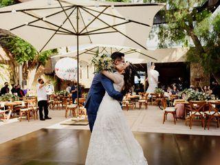 La boda de Moni y Chava
