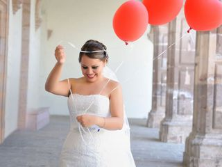 La boda de Xitlali  y Alfredo  1