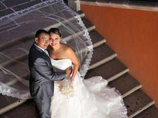 La boda de Xitlali  y Alfredo