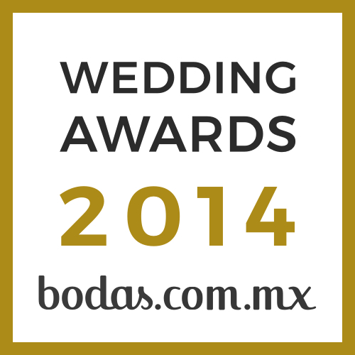 The Wedding México, ganador Wedding Awards 2014 bodas.com.mx