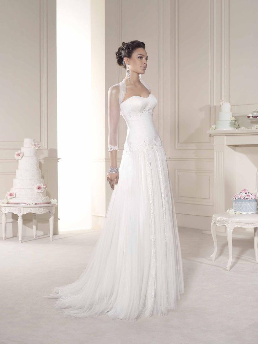 Toreras de encaje para vestidos de novia